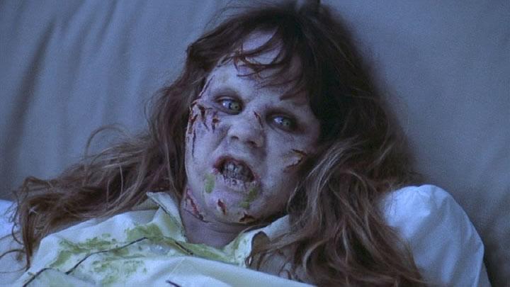 Regan, the poor little possessed girl.
